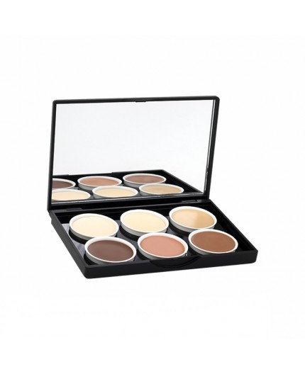PALETA CONTOURING MAKE UP 6 COLORES STAGE LINE