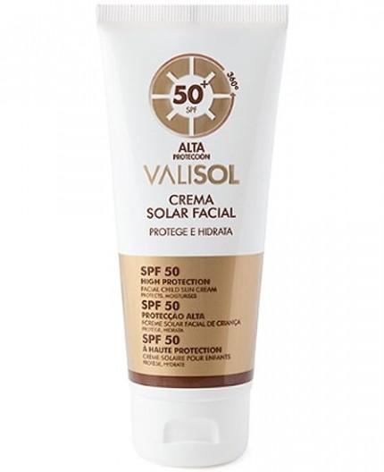 PROTECCIÓN SOLAR FACIAL SPF50+ PLUS VALISOL