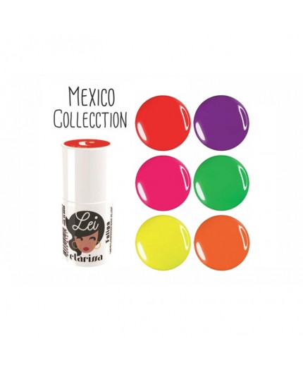 MEXICO COLLECTION CLARISSA LEI ESMALTE SEMIPERMANENTE