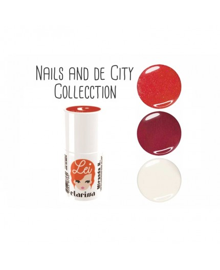 NAILS ON THE CITY COLLECTION CLARISSA LEI ESMALTE SEMIPERMANENTE