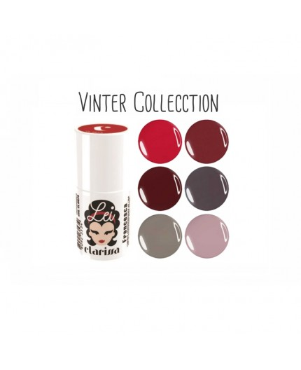 WINTER COLLECTION CLARISSA LEI ESMALTE SEMIPERMANENTE