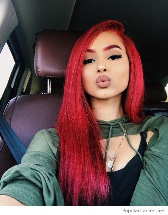 cuidados del cabello tinturado rojo