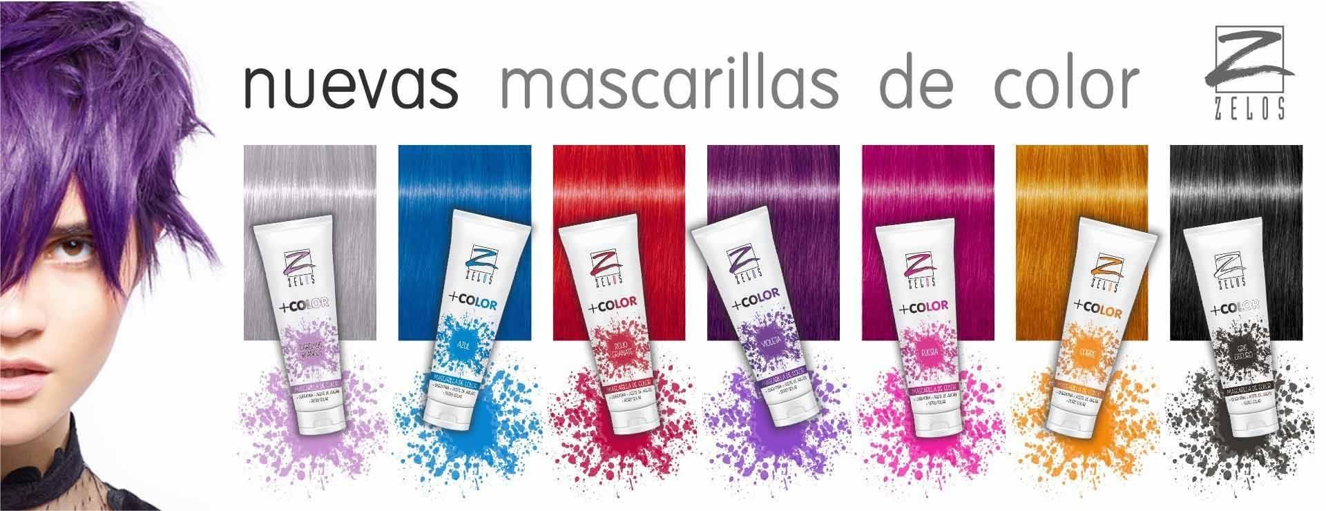 Mascarillas de Color Zelos +Color