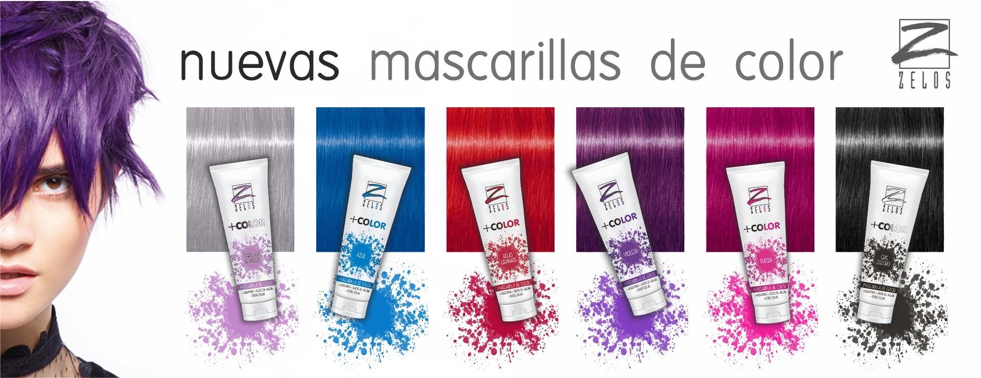 Mascarillas de Color Zelos +Color e223940efa31